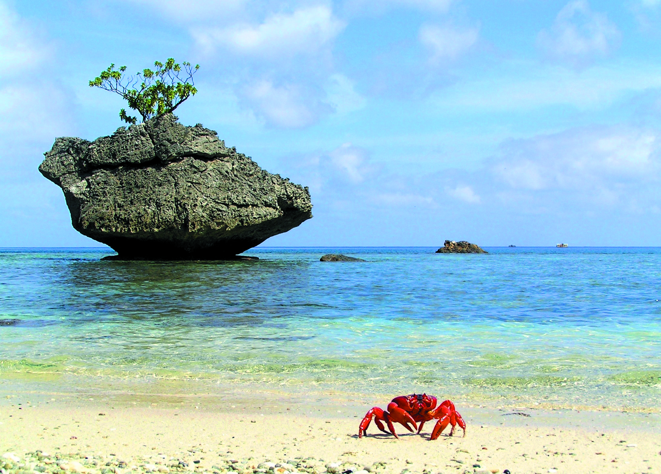 Christmas-Island-pristine-ocean